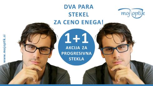 Kupon za progresivna očala