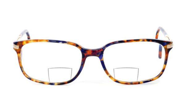 Bifokalna ali dvožariščna očala s polkrožnim segmentom - strazin