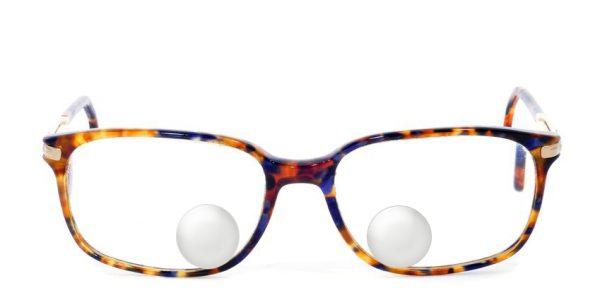 Bifokalna ali dvožariščna očala z okroglim segmentom - kriptar