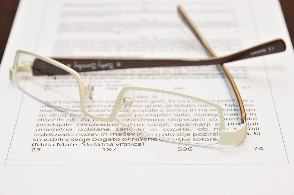 Bralna očala - polovičke