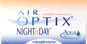 Kontaktne leče Air Optix Aqua Night & Day