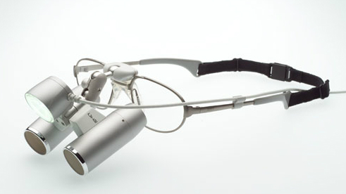 Teleskopska očala z okvirjem in LED osvetlitvijo