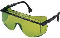 Zelena laserska zaščitna očala