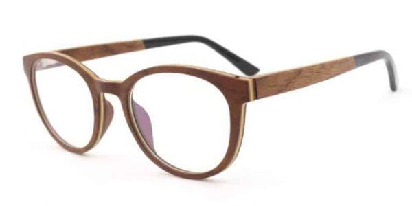 Očala iz črnega oreha