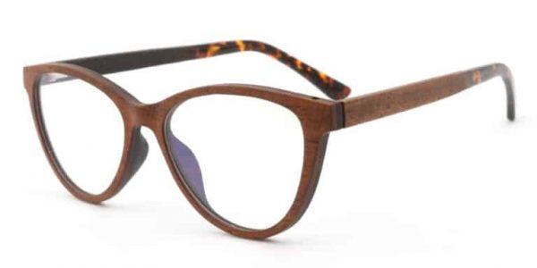 Očala iz rožnega lesa