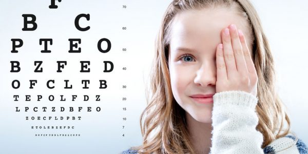 Očesni pregledi za otroke