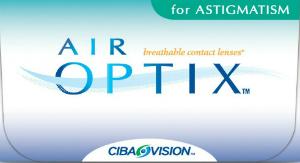 Kontaktne leče Air Optix Aqua za astigmatizem