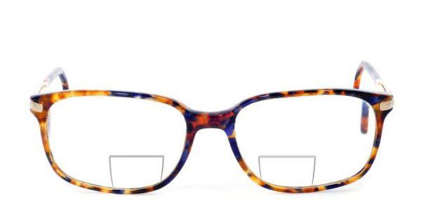 Bifokalna ali dvožariščna očala z ravnim segmentom - telezin