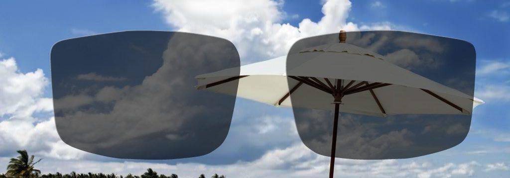 Močno zatemnjena foto občutljiva očala