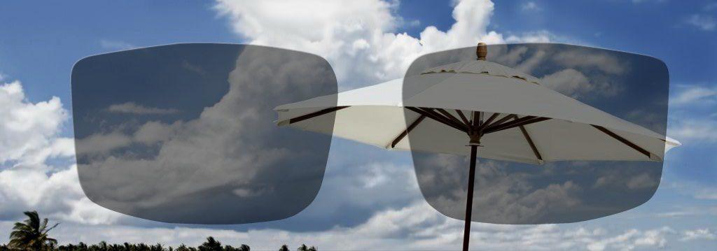 Srednje zatemnjena foto občutljiva očala