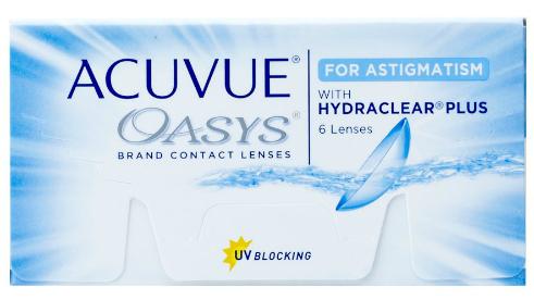 Kontaktne leče Acuvue Oasys za astigmatizem